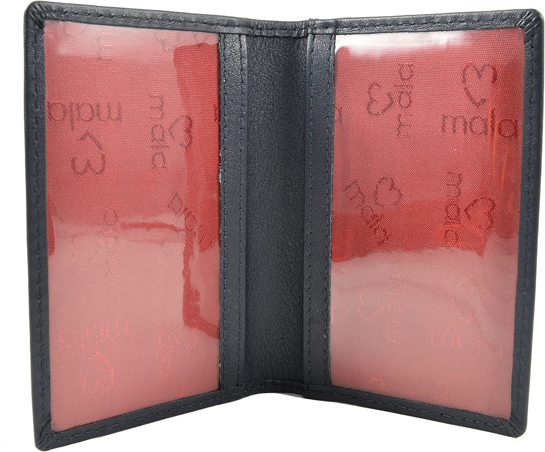 Mala Leather RFID Origin Travel Card Holder Oyster Rail Bus ID Pass Wallet Slip