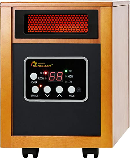 Dr Infrared Heater Portable Space Heater 1500