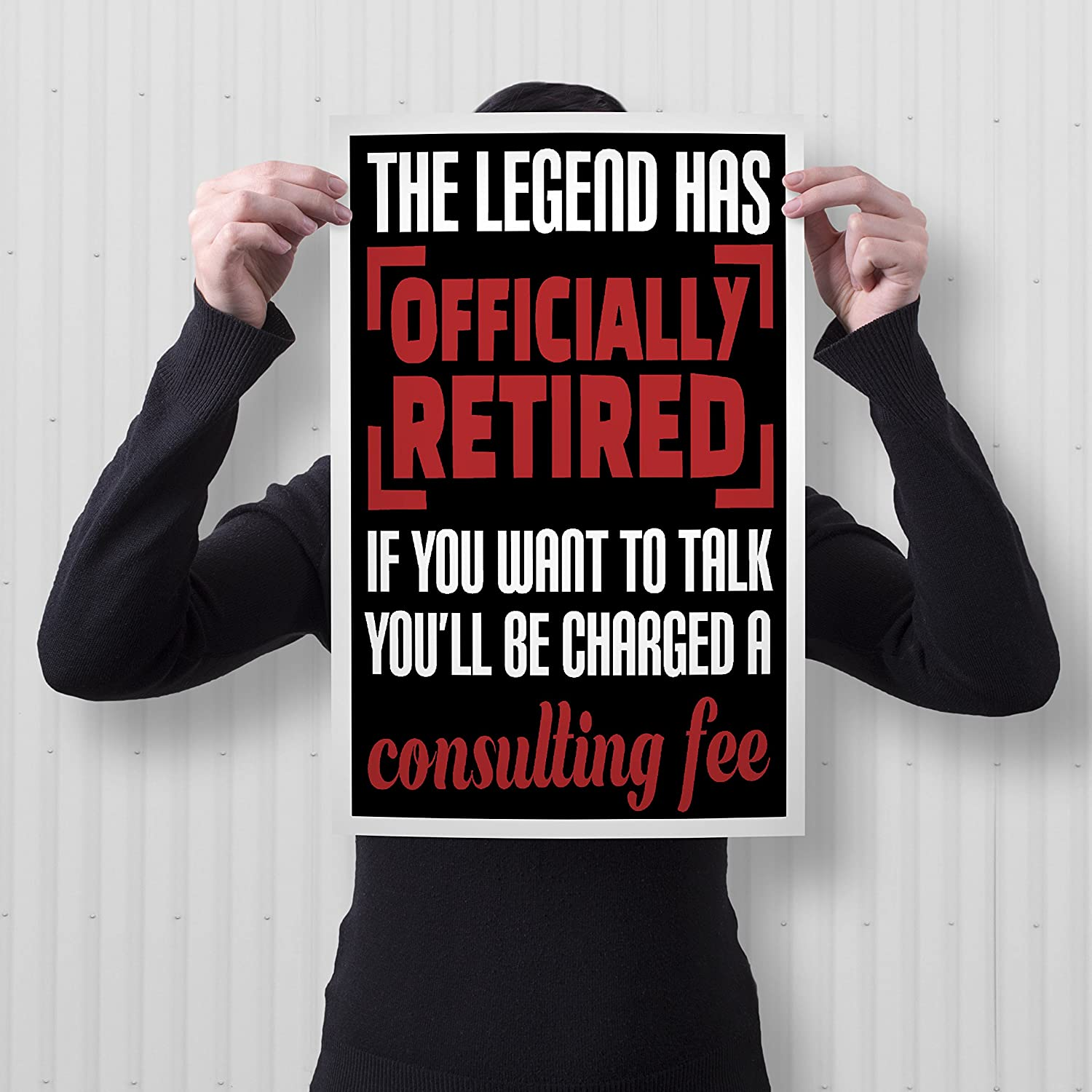 12 x 18 Includes White .5 White Border Spitzys The Legend Has Officially Retired Poster