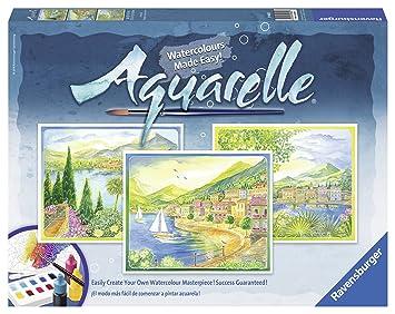 Ravensburger 29480 Aquarelle Maxi Landscape Amazon De Spielzeug
