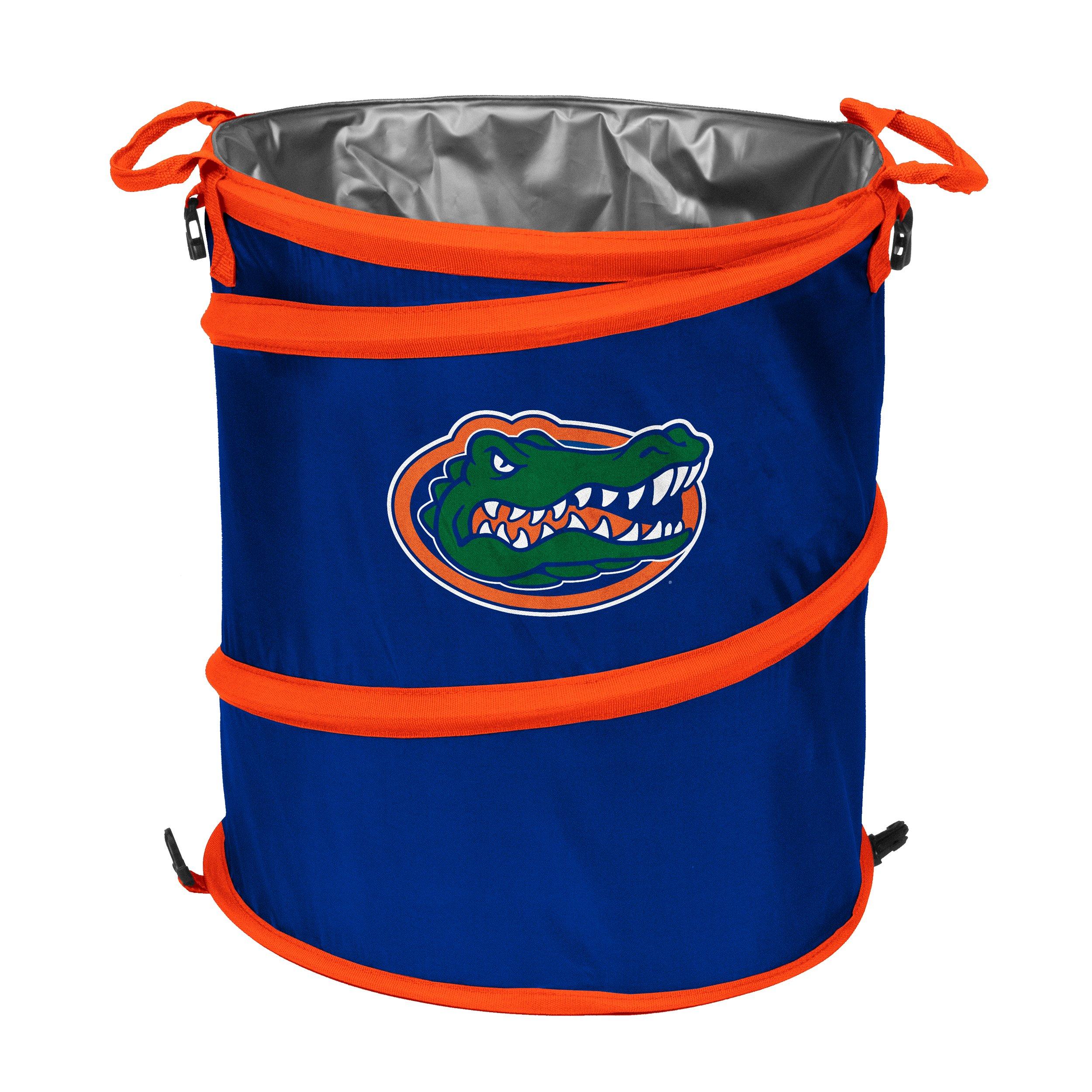 Logo Brands NCAA Florida Gators Trash Can Cooler