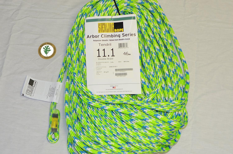 ロープ、テンプル11.1、ダブルブレイド、46m、150フィート B00MI3A4CG
