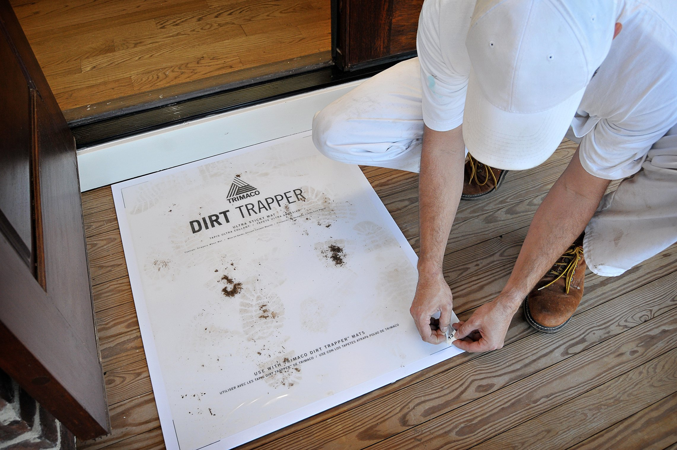 Dirt Trapper Ultra Sticky Mat - 30 layer refill by Trimaco (Image #3)