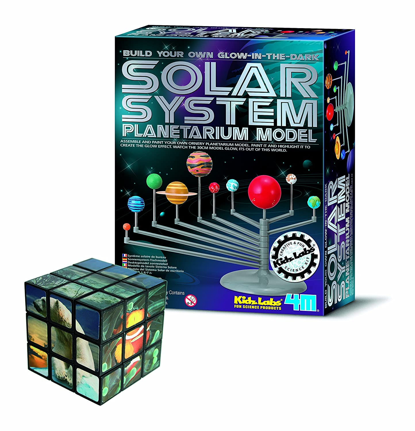 First Port of Call for Gifts Learn About Space & the Solar System the Fun Way Planetarium - Comes with a Fun Sealife Magic Cube Puzzle The Good Gift Shop