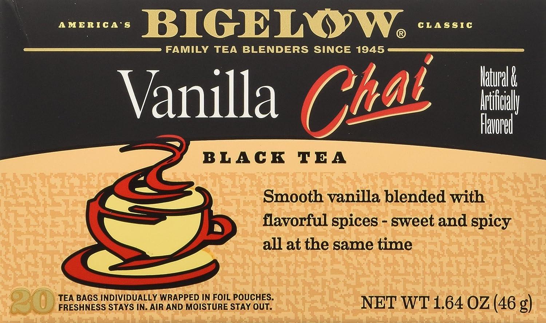 Bigelow Tea Chai Vanilla 20Bg 1.64 oz (pack of 3)