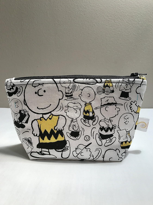 Charlie Brown Peanuts Zipper Bag