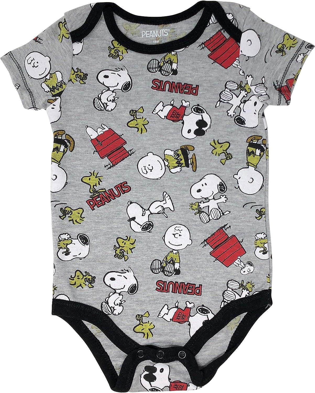 nuevo! Peanuts Snoopy Bebé Una Pieza Talla 3//6 6//9 12 18 24 meses