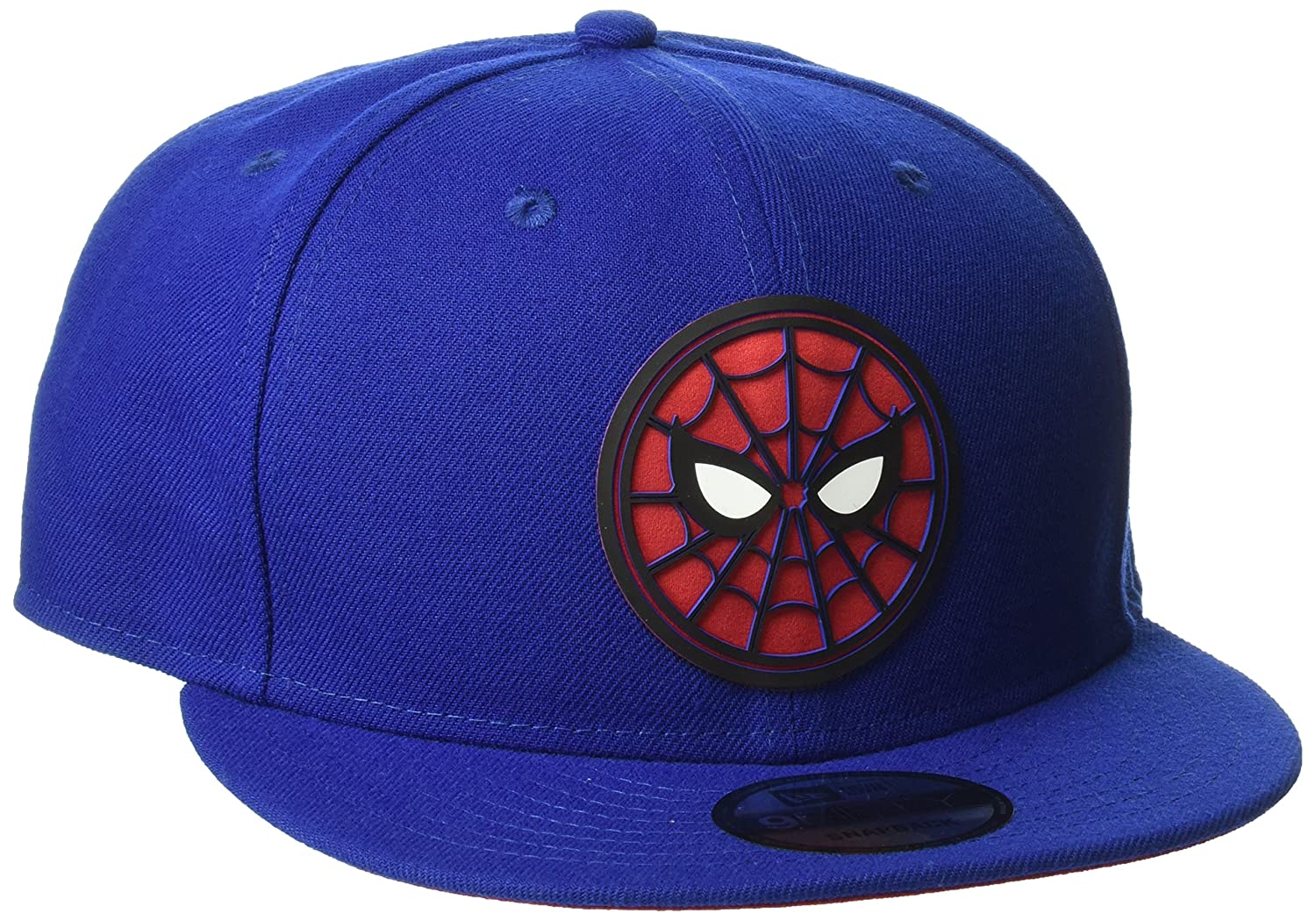 cheap for discount 4b596 5cf2b ... reduced new era cap mens spiderman homecoming beveled logo 9fifty  snapback blue one size at amazon