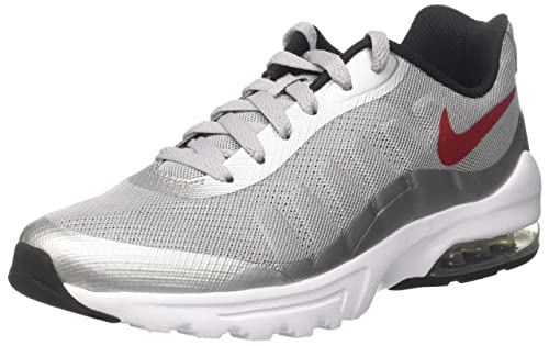 01b791bd89 Nike Men's Air Max Invigor Sneakers, (Wolf Grey/Varsity Red-Black-