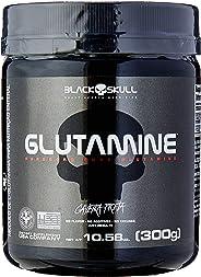 Glutamine - 300g Sem Sabor - Black Skull, Black Skull