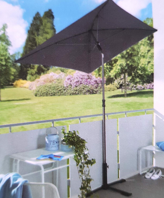 Qm Oder Baugleich Sonnenschirm Rechteckig 210x140 Cm Garten