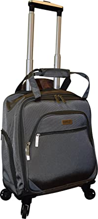 Amazon.com | New York Chocolate Travel 18 Inch Carry-On Wheeled ...
