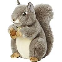 "Aurora World Miyoni Grey Squirrel 10"" Plush"