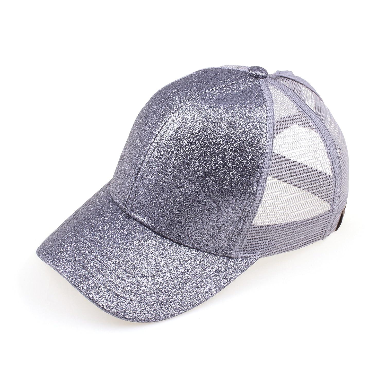 By Summer HAT レディース B07DHZPNH8 Grey Glitter Grey Glitter -