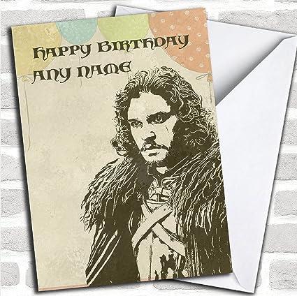 Got Jon nieve Dad noche reloj de juego de tronos cumpleaños ...