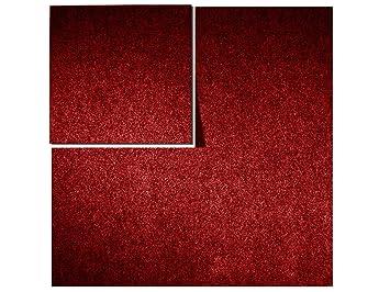 Teppichfliesen  Floori Teppichfliesen - 1m² - Farbe wählbar - Premiumklasse (2,6kg ...