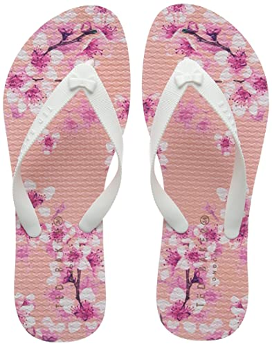 34b25013b Image Unavailable. Image not available for. Color  Ted Baker Beaulup - Blossom  Print TPU (Pink) Womens Sandals ...