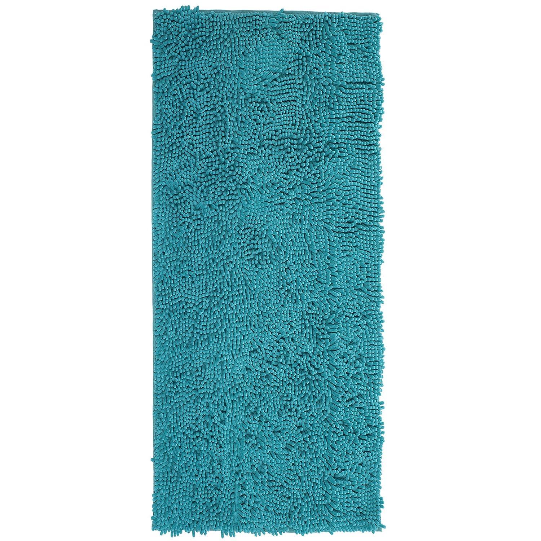 Lavish Home High Pile Shag Rug Carpet 30x60 Seafoam