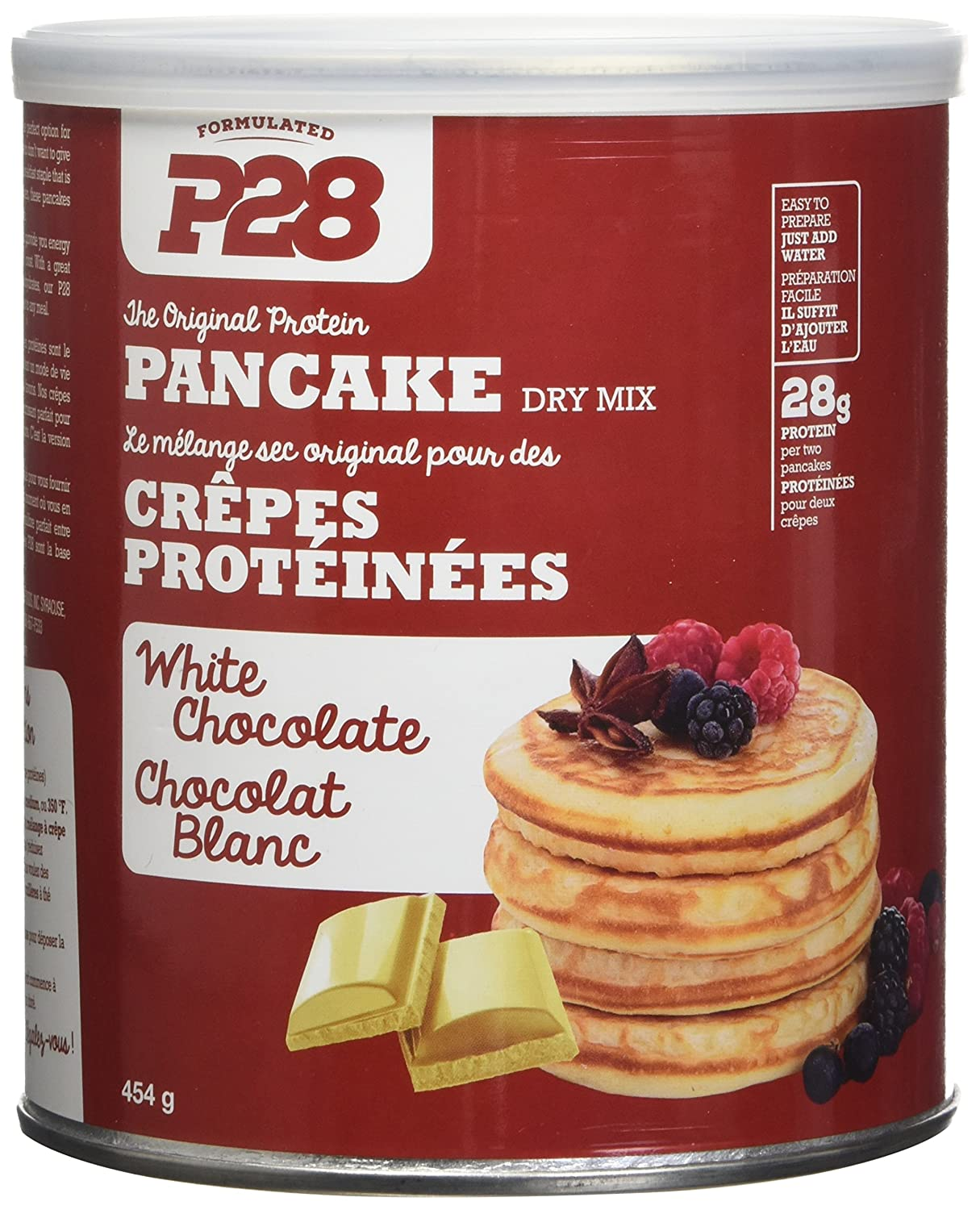 Amazon p28 foods the original high protein pancake dry mix amazon p28 foods the original high protein pancake dry mix white chocolate 16 ounce health personal care ccuart Gallery