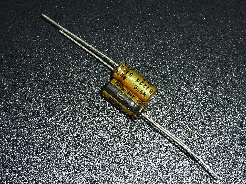 10pcs 16V100uf 16V Nichicon FW standard capacitor 5x11mm for Audio