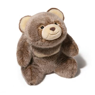 "GUND Snuffles Salted Caramel Teddy Bear Stuffed Animal Plush 12"", Limited Edition: Toys & Games"