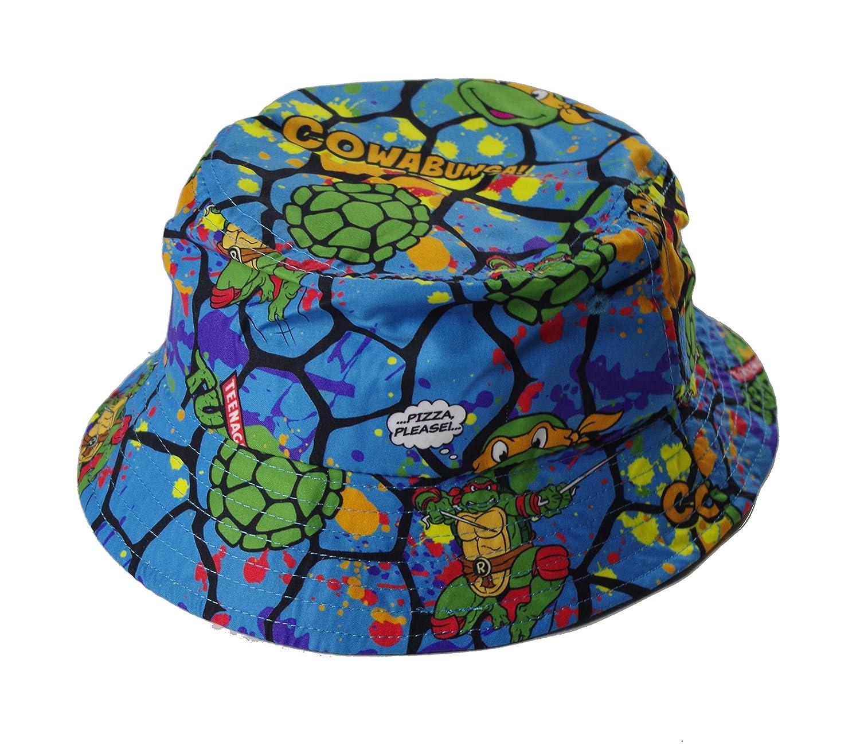 Teenage Mutant Ninja Turtle Royal Blue Bucket Hat Nickeloedon