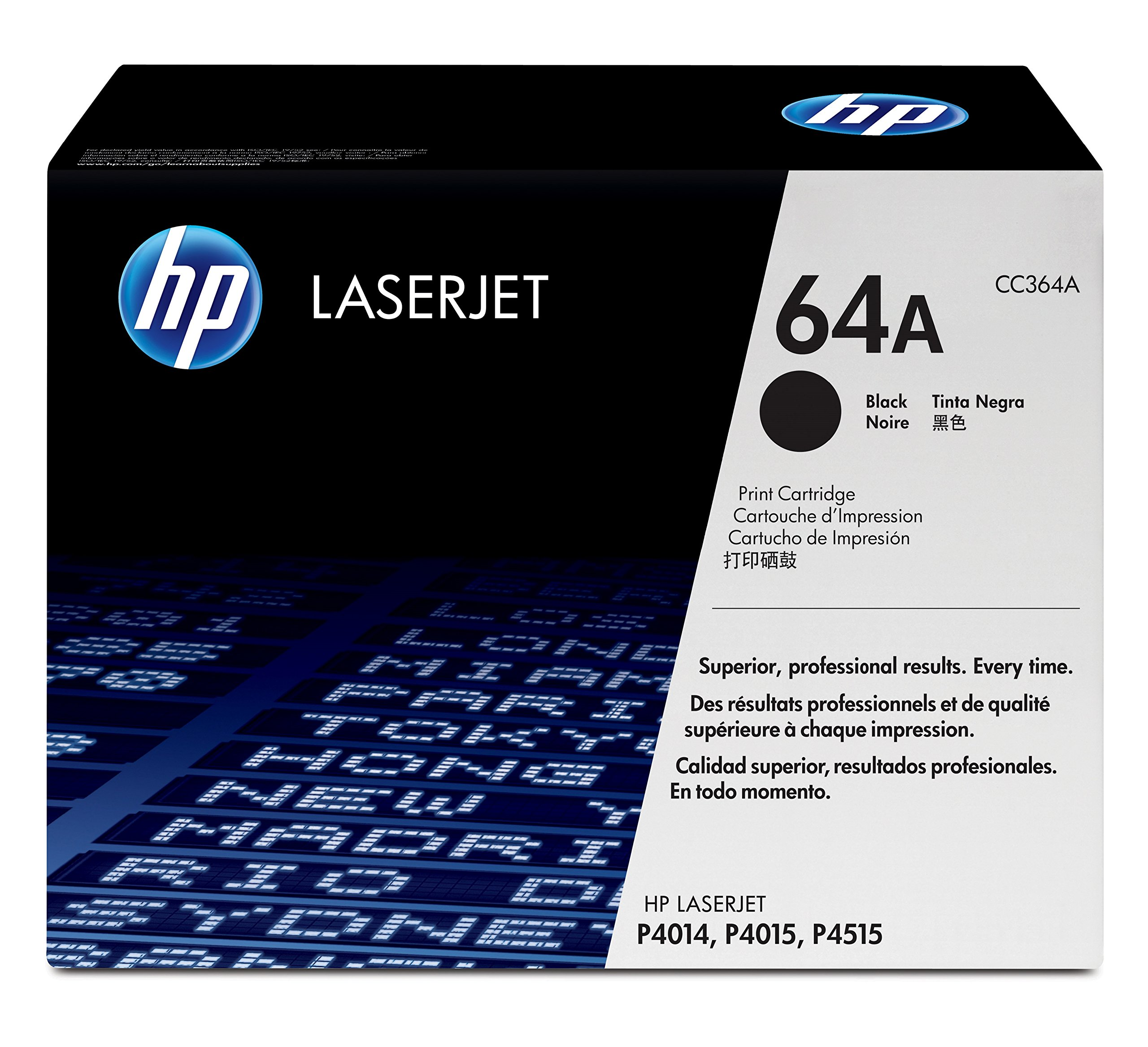 HP 64A (CC364A) Black Original Toner Cartridge by HP