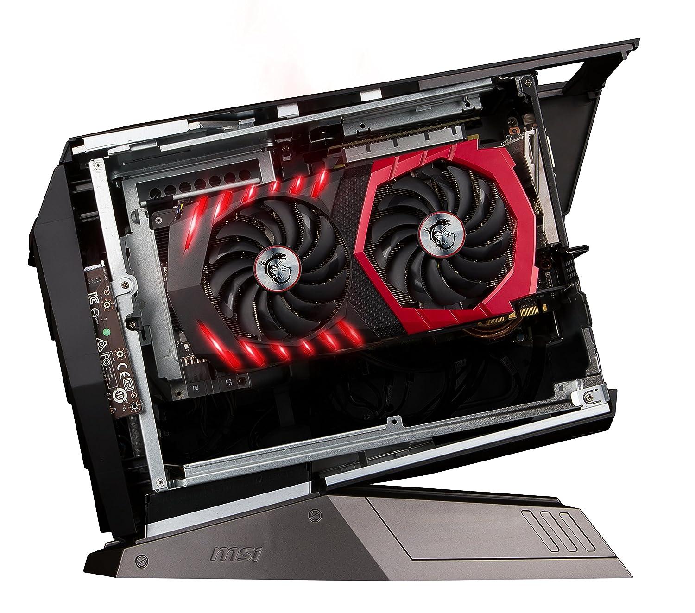 MSI Aegis-055EU - Ordenador de sobremesa (Intel Core Intel Core i5-6400, 16 GB de RAM, HDD de 1 TB y 256 GB SSD, NVIDIA GeForce GTX 1060, Windows 10), ...