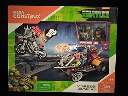 Amazon.com: Mega construx Teenage Mutant Ninja Turtles Leo ...