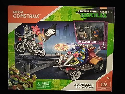 Amazon.com: Mega construx Teenage Mutant Ninja Turtles Leo ...