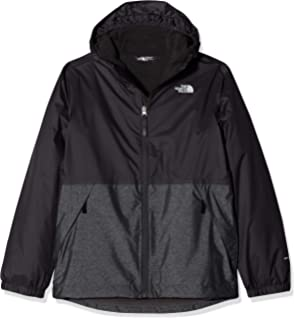 06b64b25cb09 THE NORTH FACE Boys  Elden Rain Triclimate Waterproof Jacket  Amazon ...