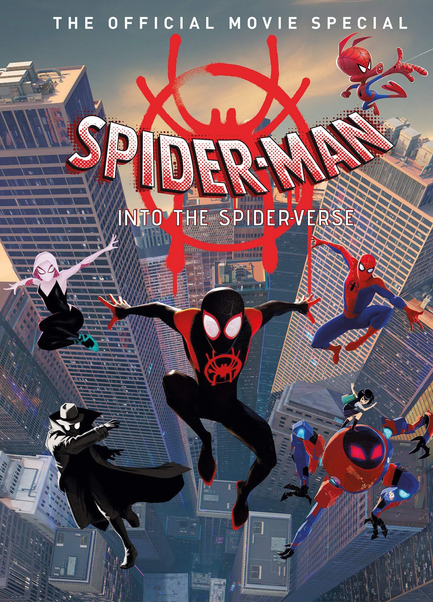 "Spider-Man Into The Spider Verse Movie Poster Art Print 21×14 24×36 27×40 32×48/"""