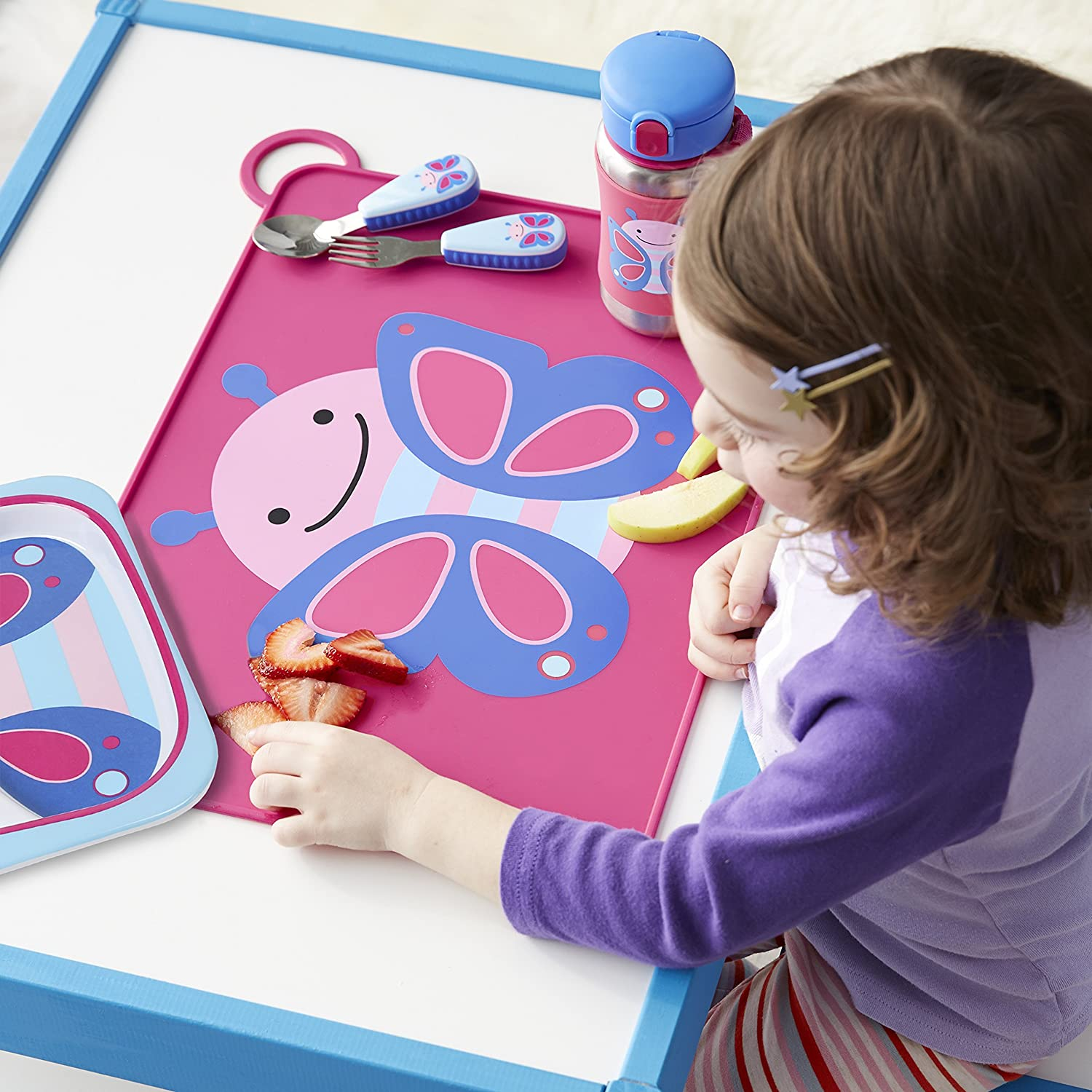 Skip Hop Silicone Placemats For Baby And Toddlers, Monkey 252051-CNSZP