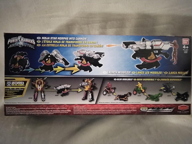 Amazon.com: Sabans Power Rangers Ninja Steel Mega Morph DX ...