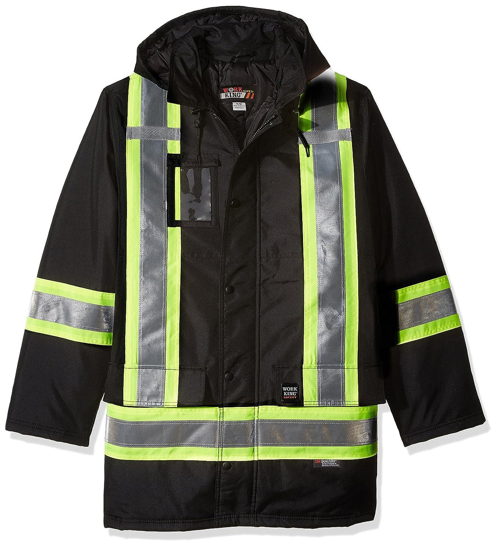 Work King Safety SHIRT メンズ B071SDJLBT XXXL|ブラック ブラック XXXL