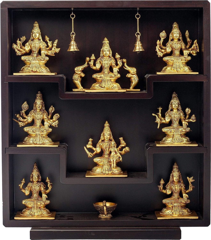 Exotic India Ashtalakshmi Home Décor Statue