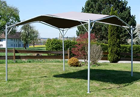 Elegante pabellón pabellón jardín 3, 5m Metros, Techo 100% poliéster UV50 + Repelente al Agua Modelo: Ibiza de AS-S: Amazon.es: Jardín