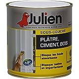 Sous-couche JULIEN pour plâtre, ciment, bois - Blanc Mat 2,5L