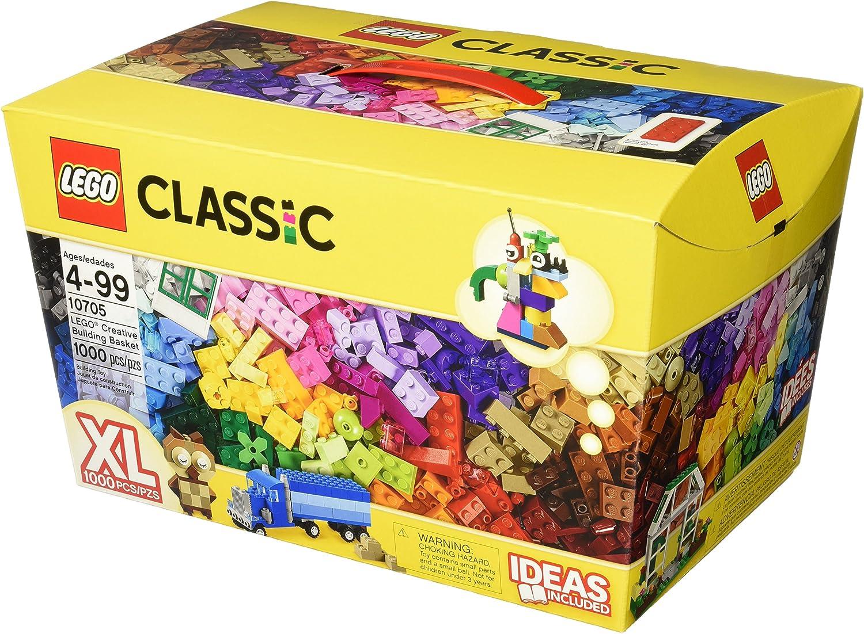 LEGO Classic Creative Building Basket Set #10705 by LEGO: Amazon.es: Juguetes y juegos