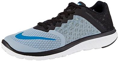 Nike Herren FS Lite Run 3 Laufschuhe, Azul (Azul (Blue Grey/Photo