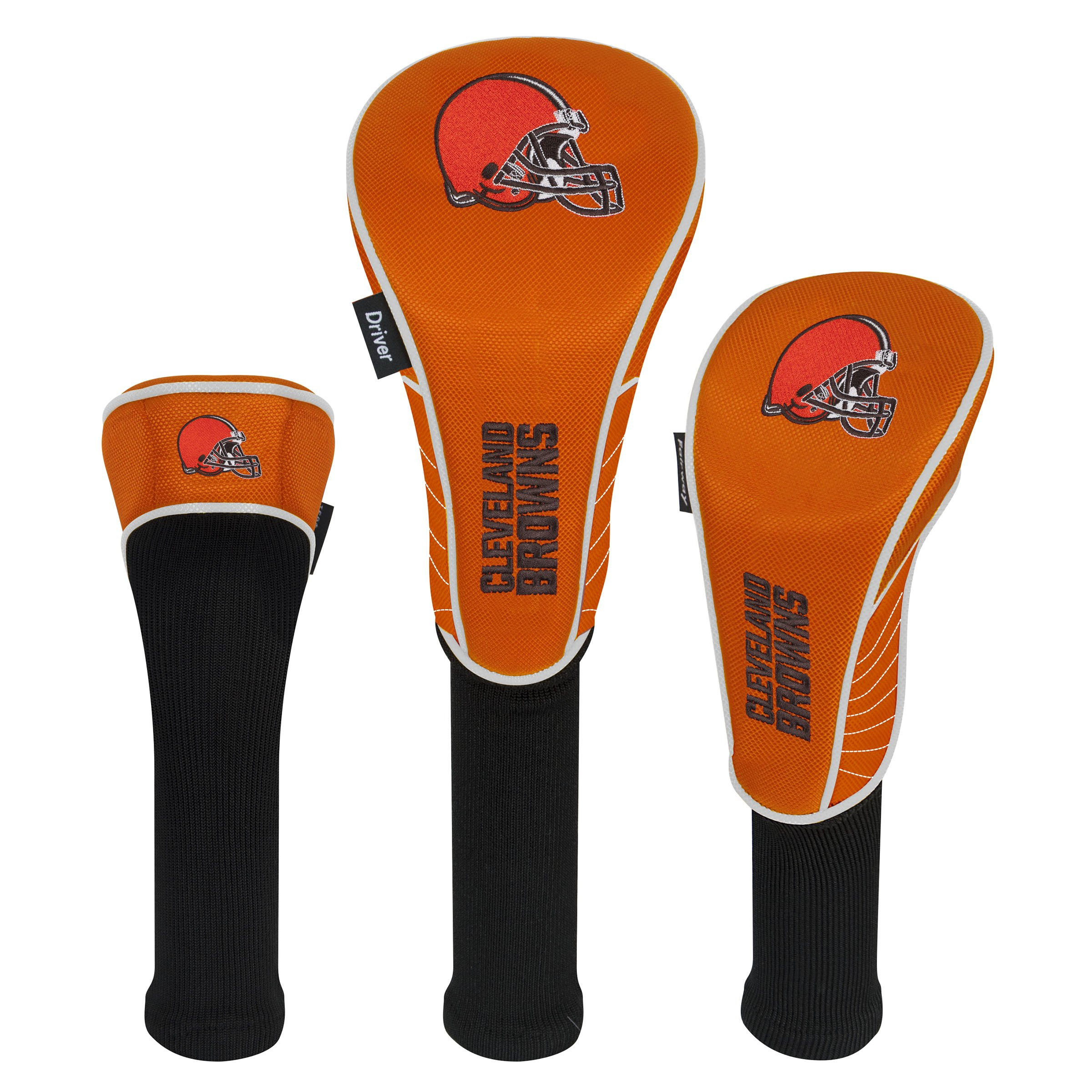 Team Effort NFL Cleveland Browns Set of Three Headcovers