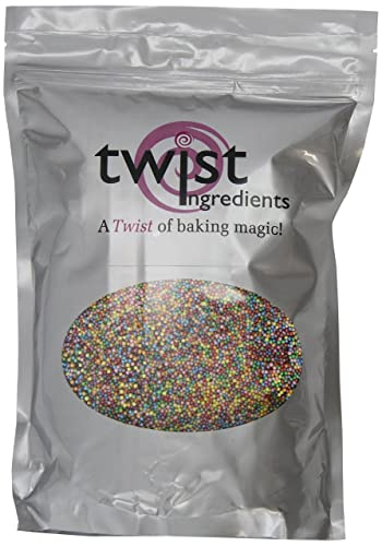 Twist Ingredients Rainbow Pearl Hundreds and Thousands 1 kg