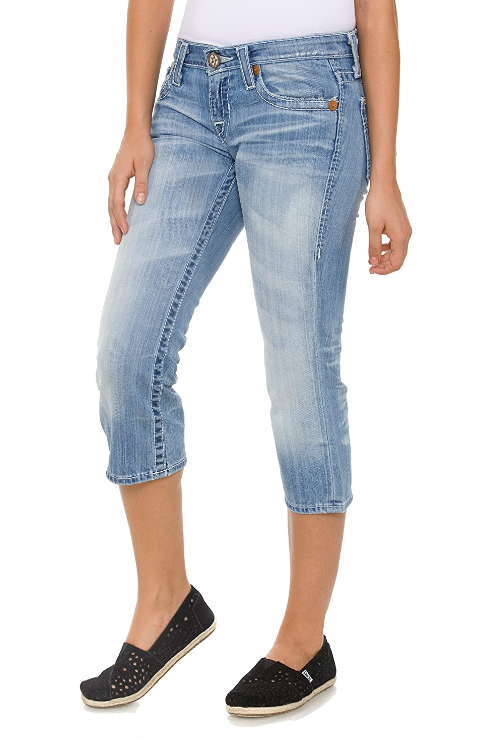 Big Star Women's Liv Cropped Jeans in 23-year Wash