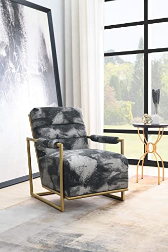 Comfortland 25″ Upholstered Lounge Chair Modern Style