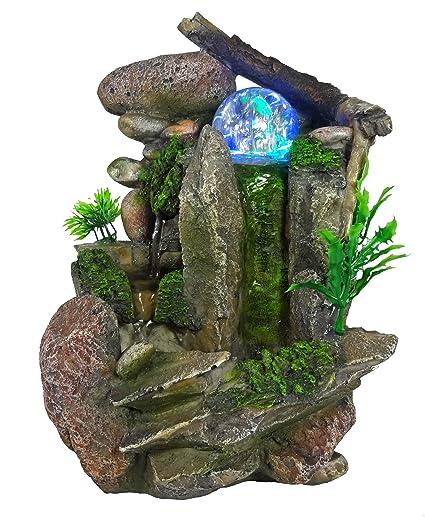 Tabletop Fountain Indoor Fountain Waterfall Natureu0027s Garden
