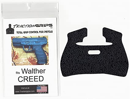 Tractiongrips grip tape overlay for Walther CREED pistols
