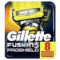 Gillette Fusion5 ProShield Razor Blades, 8 Refills