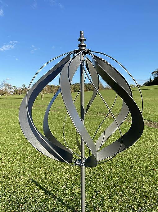 Marissas Garden /& Gift Wembury Wind Sculpture Spinner