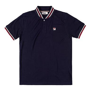 Fila Polo Heritage 684355 Man Piquè T-Shirt Baseball Vintage ...