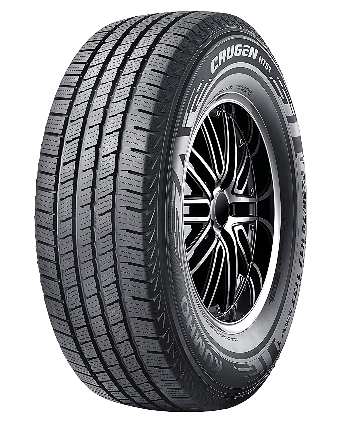 Season Radial Tire-225//65R17 102T Kumho Crugen HT51 All